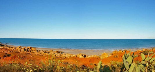 Panoramic views of Broome