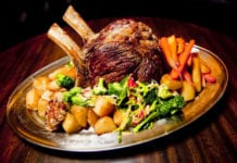 British Sunday Roast at the Bat and Ball Sydney Newtown Kings Cross