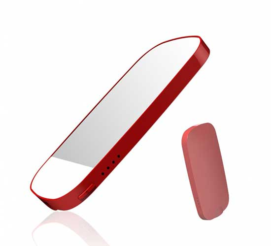 mirror power charger