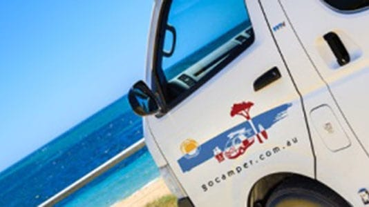 campervan hire in western australia