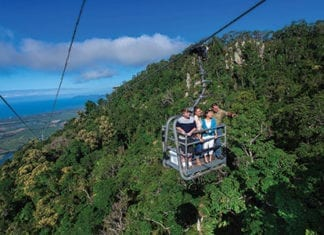 skyrail rainforest cableway Cairns