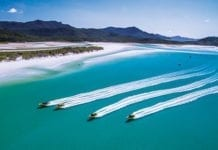 ocean rafting in the whitsunday islands