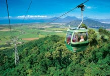 Skyrail Rainforest Cableway in Cairns, Australia
