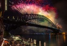 Sydney Harbour Party Fireworks
