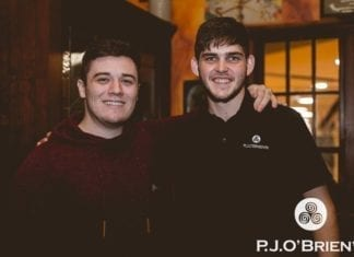 Big Shout To Everyone Who Joined With P.J.O'Brien's