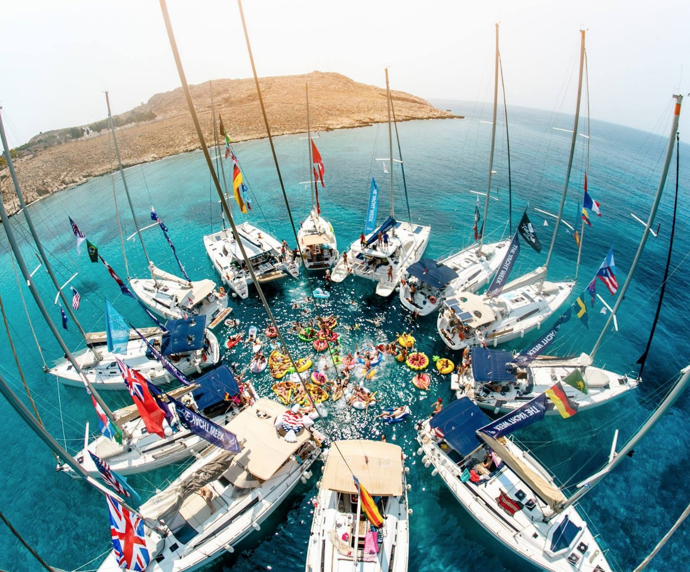 The Yacht Week Launches 'Floating Dj Stage' Phase One Artist Line Up -  Australia Work & Travel Magazine - What's On Aus, Cheap Tours &  Accommodation