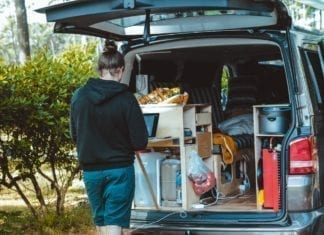 Backpacker Camper Van Hire Cairns