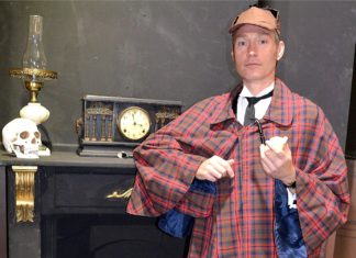 An Evening with Sherlock Holmes at Limelight Theatre Wanneroo Perth