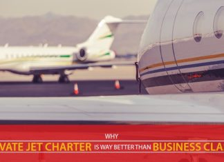 Why Private Jet Charter is Way Better than Business Class