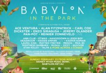 Babylon In The Park 2020