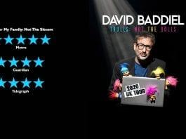 David Baddiel Australia tour