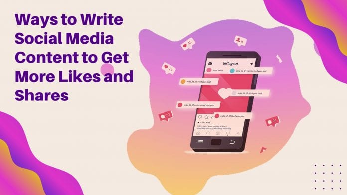 Ways to Write Social Media Content
