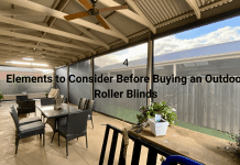 Elements to Consider Before Buying an Outdoor Roller Blinds