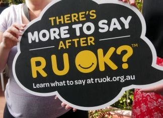 LEARN WHAT TO SAY AFTER R U OK?